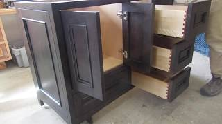 How to Build a Bathroom Vanity Start to Finish