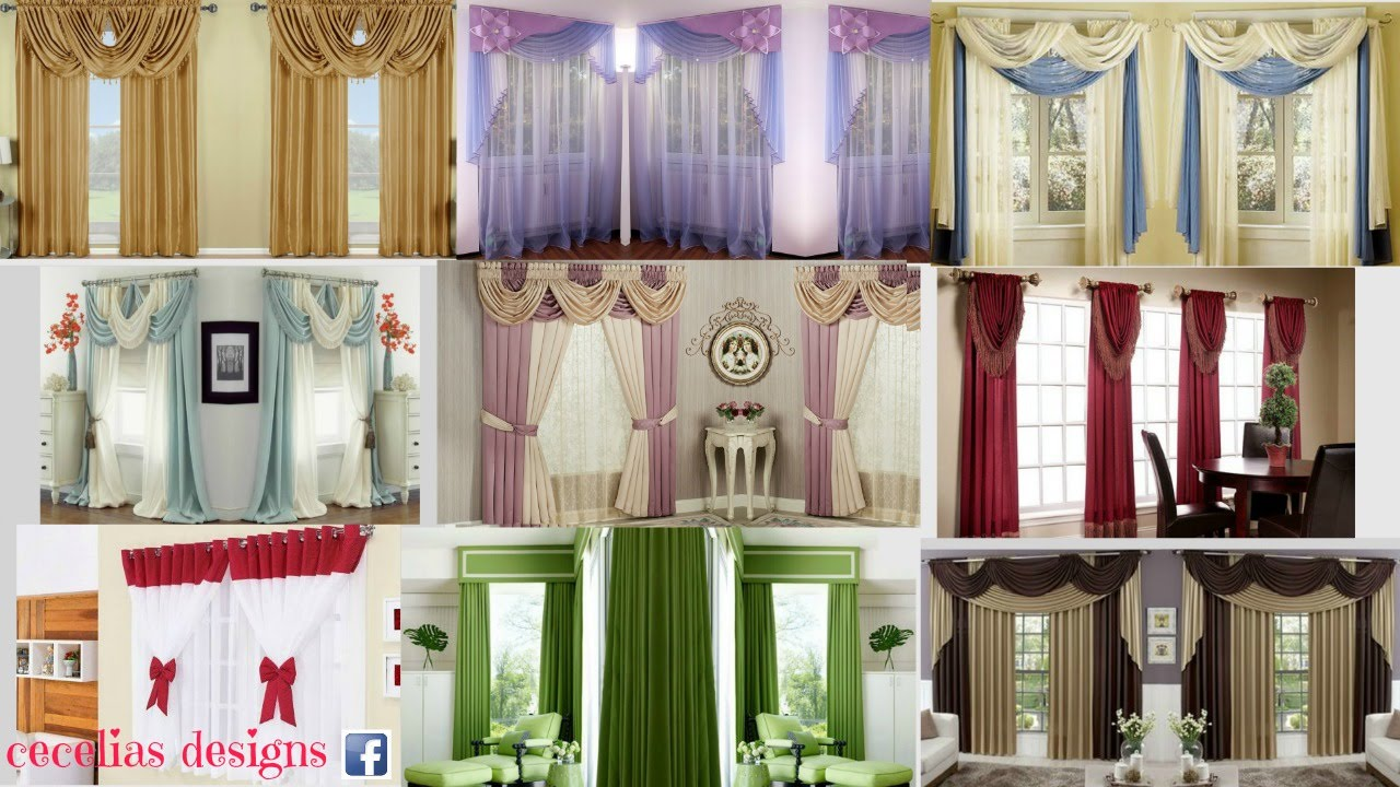 Delightful Curtain Designs For Homes Interiors   YouTube