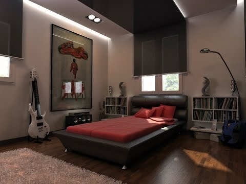 10 Best Pictures Of Cool Room Ideas For Guys - YouTube
