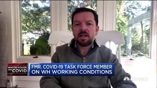 Former Covid-19 task force member on the White House outbreak