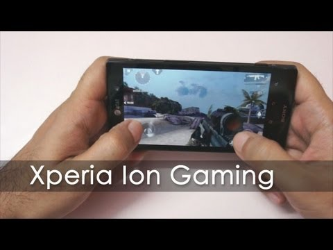 Sony Xperia Ion Gaming Review & Benchmarks