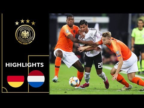 Half-time lead is not enough   Germany vs. Netherlands 2-4  Highlights   Euro Qualifiers