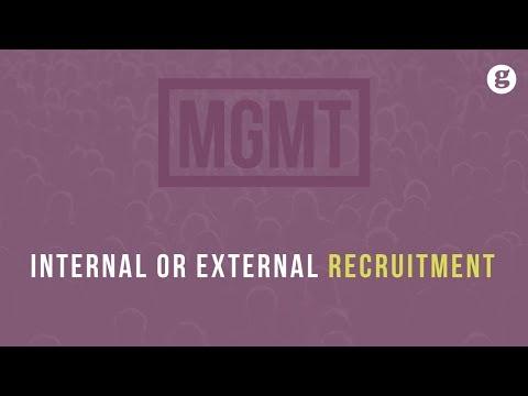 Internal Or External Recruitment
