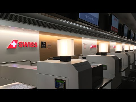SWISS Terminal at Zürich Airport: Tour through the newly des