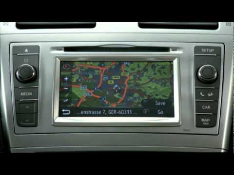 nowa toyota avensis system touch go youtube. Black Bedroom Furniture Sets. Home Design Ideas