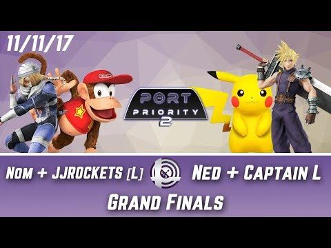 Port Priority 2 - Nom + JJROCKETS [L] Vs. Ned + Captain L - Grand Finals