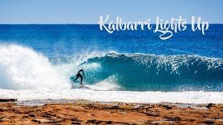 Surfing in Kalbarri