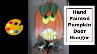 Pumpkin Door Hangers