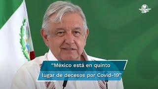 El presidente López Obrador reiteró su respaldo y apoyo al subsecretario de Salud, Hugo López-Gatell, y al grupo de expertos que han tenido un manejo responsable de la pandemia