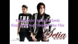 "Setia band ""pengorbanan cinta"" (lirik)"