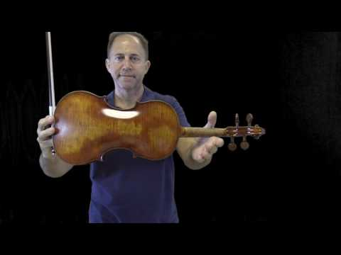 Ming Jiang Zhu 903, 905, And Holstein Traditional Violin For Guillermo
