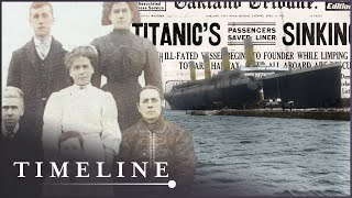 Who Were The Real People Onboard The Titanic? | Waking Titanic | Timeline