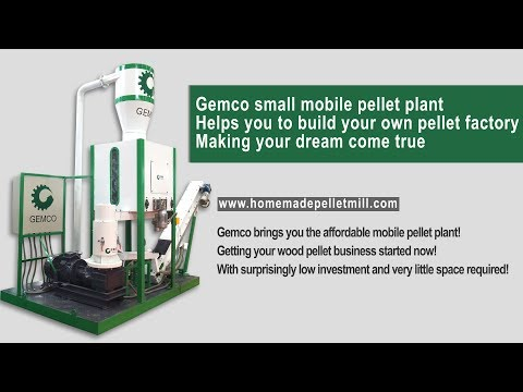 GEMCO Multifunctional Biomass Pellet Mill Plant is an Excellent Pellets Production Line