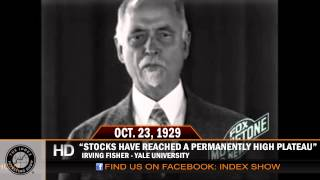 """""""Stocks have reached a permanently high plateau"""""""