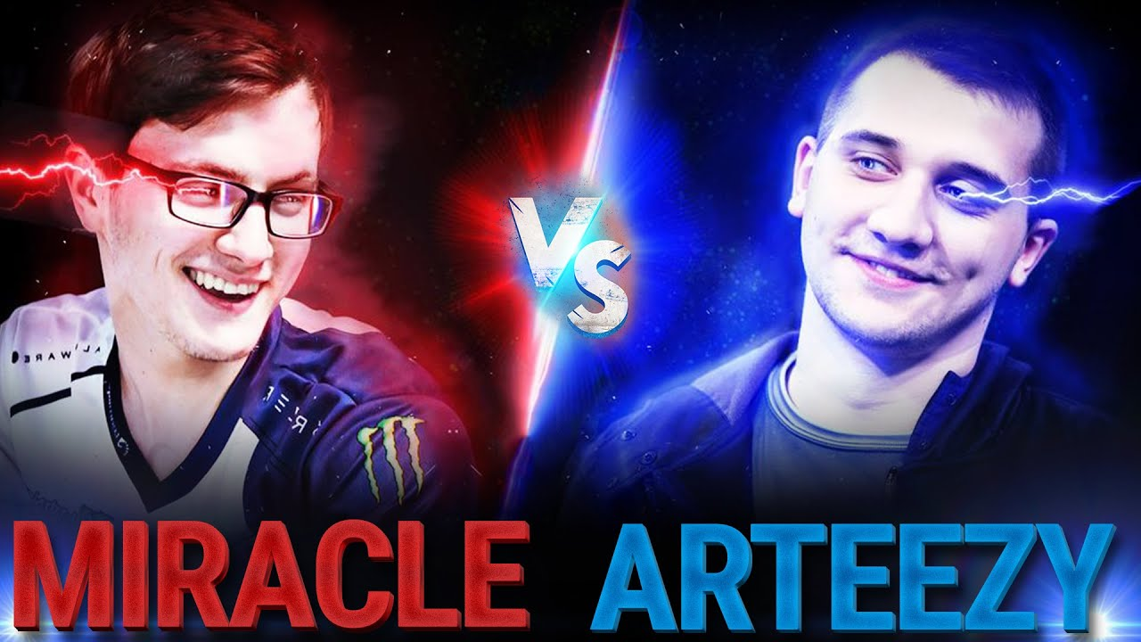 Miracle vs Arteezy BEST Plays Ever in Dota 2 History thumbnail