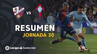 Resumen de SD Huesca vs RC Celta (3-3)