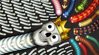 Эволюция Змей-Скелетов! LittleBigSnake.io Новая io Игра