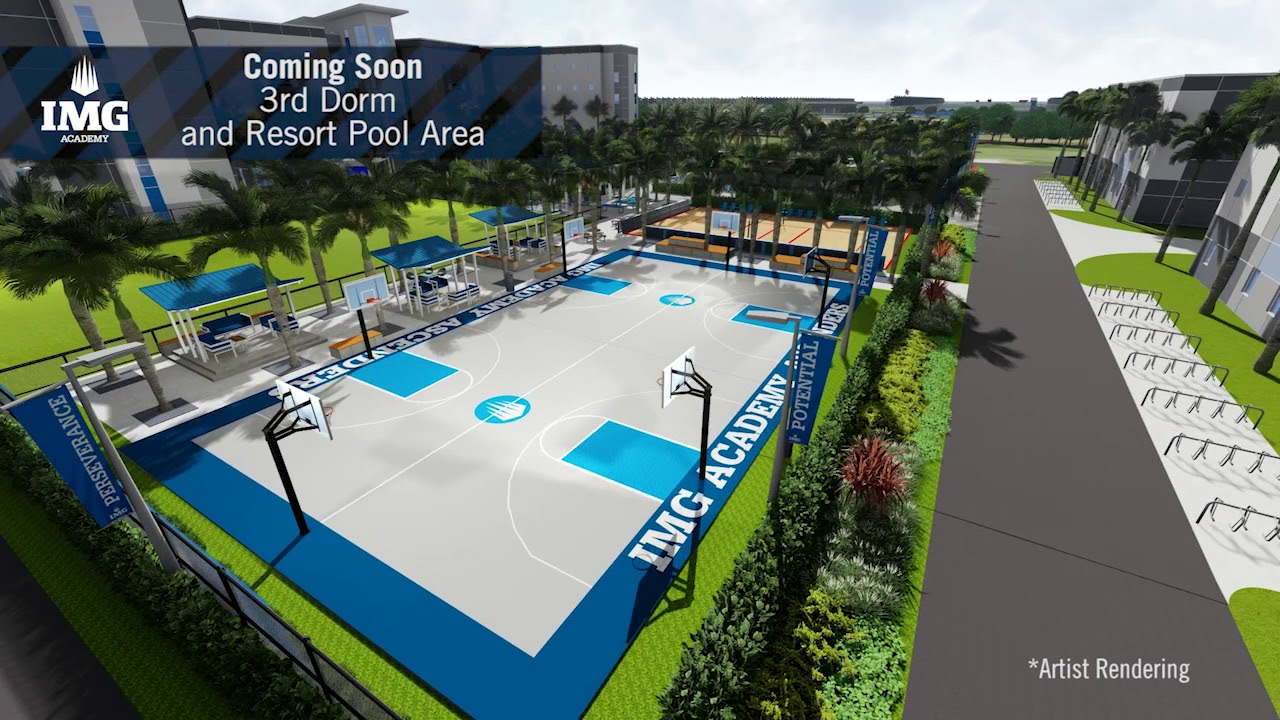 Img: IMG Academy New Recreational Complex & Residential Hall