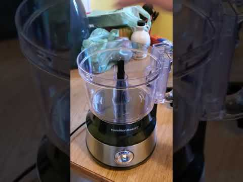 How I Set Up My New Hamilton Beach Food Processor