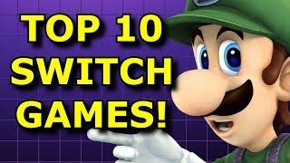 Top 10 Nintendo Switch Games Better In Handheld!