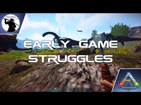 S1E1 - Early Game Struggles   Cleansing Euro-Server Series   Epidemic Ark: Survival Evolved