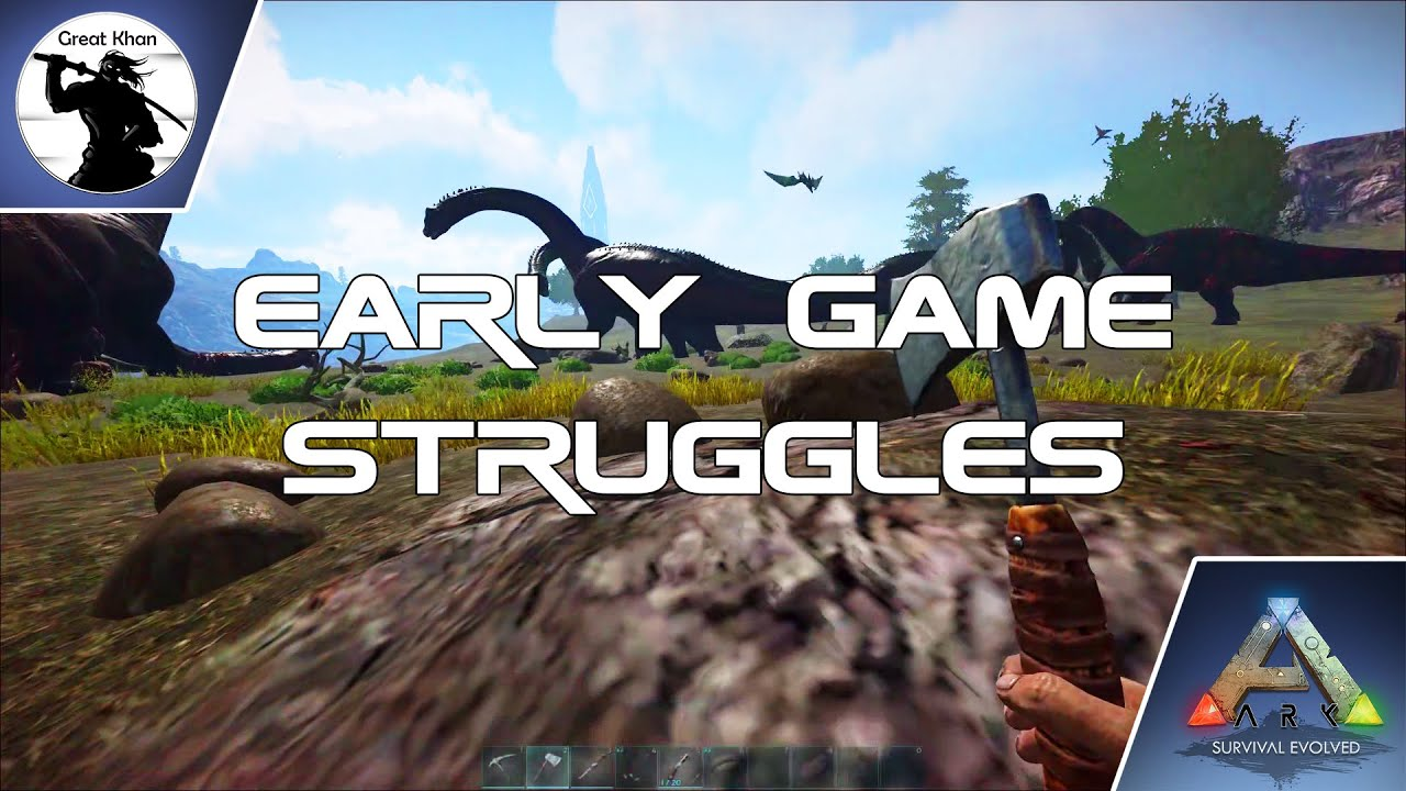 S1E1 - Early Game Struggles | Cleansing Euro-Server Series | Epidemic Ark: Survival Evolved