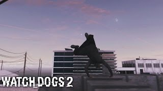 Watch Dogs 2 - Parkour and Free Running Compilation (With Aiden Pierce Outfit) FREE ROAM