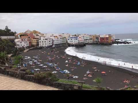 Playa el jardin Puerto de la Cruz
