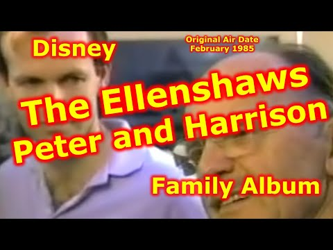 The Ellenshaw's Peter and Harrison - Disney Family Album
