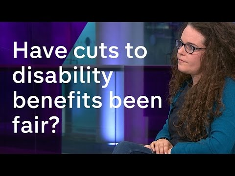 Disability campaigner and Conservative MP discuss cuts