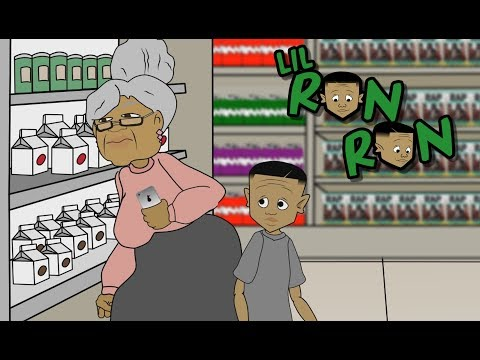 LIL RON RON GOES TO THE STORE WITH GG