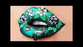 LATEST LIPSTICK MAKEUP TUTORIAL  #2 | New Amazing Lip Art Ideas 2018