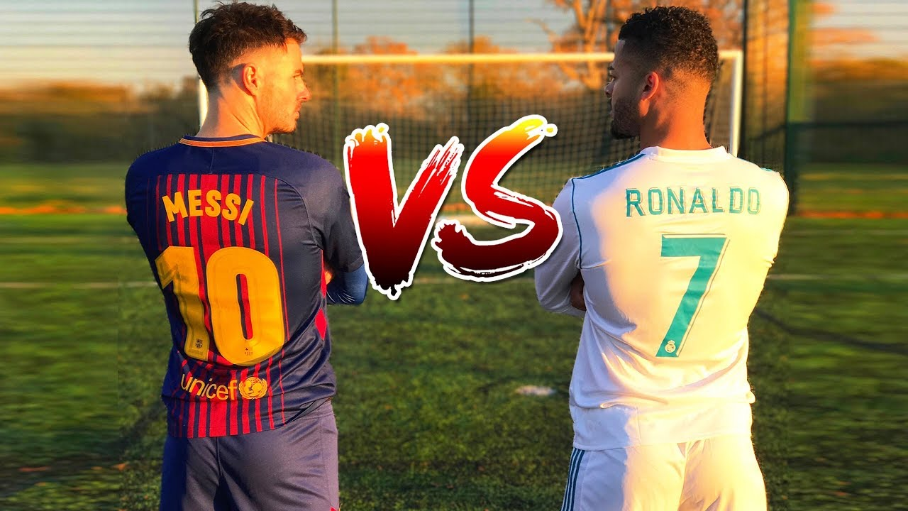 the best attitude 755a9 9b75e Messi VS Ronaldo