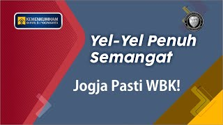 Yel-Yel Kanwil Kemenkumham D. I. Yogyakarta Dalam Desk Evaluating WBK Kemenpan RB