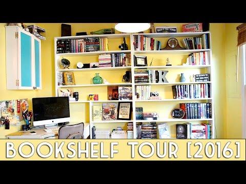 BOOKSHELF TOUR| 2016