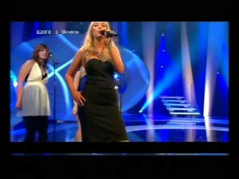 "Dansk Melodi Grand-Prix 2008 Louise Victoria ""Grøn Mand Gå"""