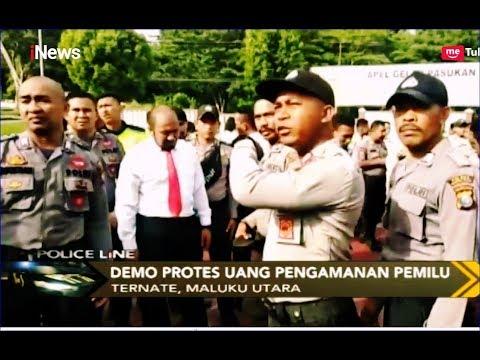 Ratusan Anggota Polisi di Ternate Demo Minta Uang Pengamanan Pemilu - Police Line 29/04