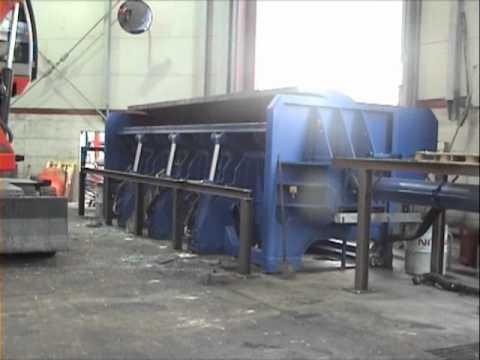 Pressa autocostruita per tronchetti di cartone e legno doovi for Costruire pressa idraulica