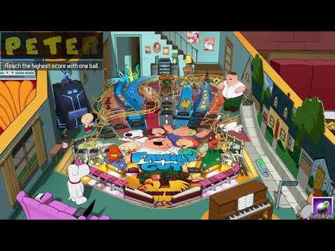 Pinball FX3 – Zen Price Tournament – Family Guy – 1373 million