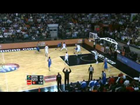 Argentina Vs. Puerto Rico / 2011 FIBA Americas Championship Semi-Final
