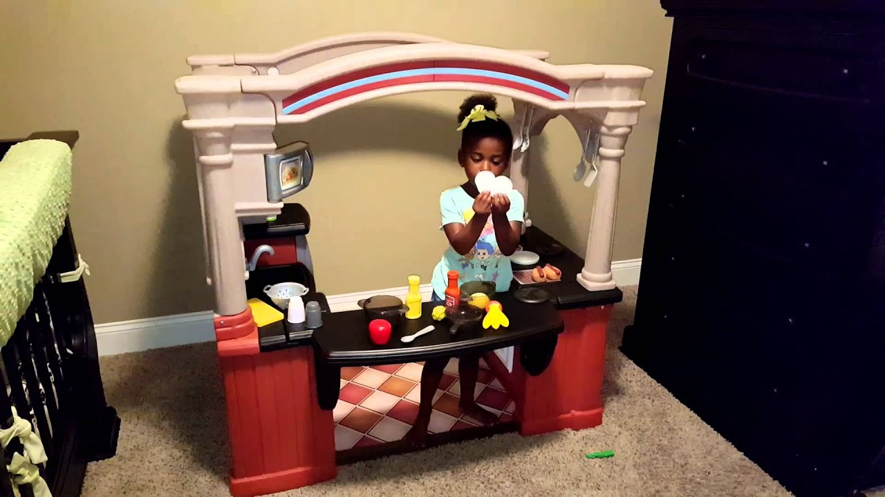 Step2 Grand Walk In Kitchen Kid Review YouTube