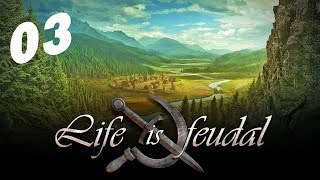 Скачать Life Is Feudal 03 серия Аналитика Кузнечное дело начало