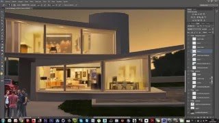 Making of - Photoshop - Architectural rendering