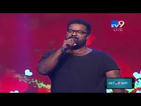 Kala Bhairava Extraordinary Performance @ Tholi Prema Audio Launch - TV9
