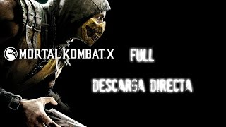 Mortal kombat X FULL APK+DATOS | DESCARGA DIRECTA