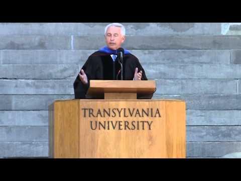 Gov. Steve Beshear at Transylvania's 2014 commencement