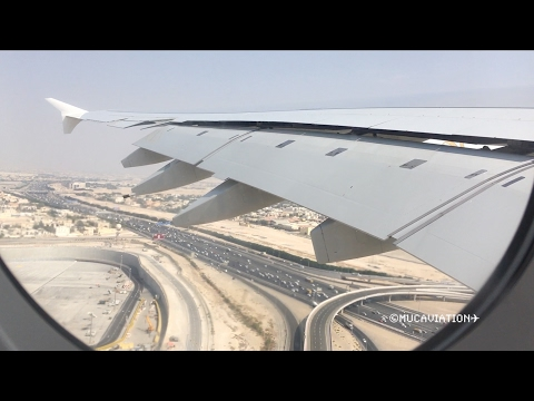 HEAVY Emirates Airbus A380-800 Takeoff from Dubai to Sydney [1080p60]