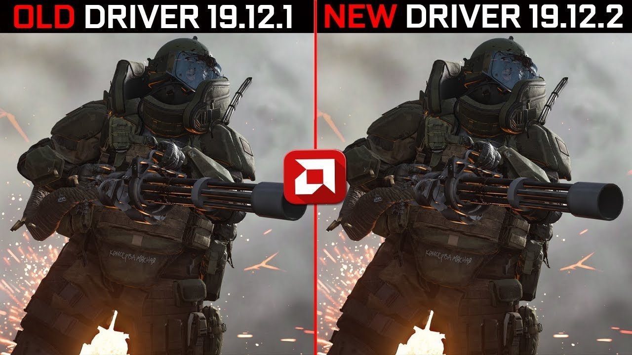 AMD Radeon Driver (19.12.1 vs 19.12.2) 2020 Edition Test in 5 New Games | Rx 570