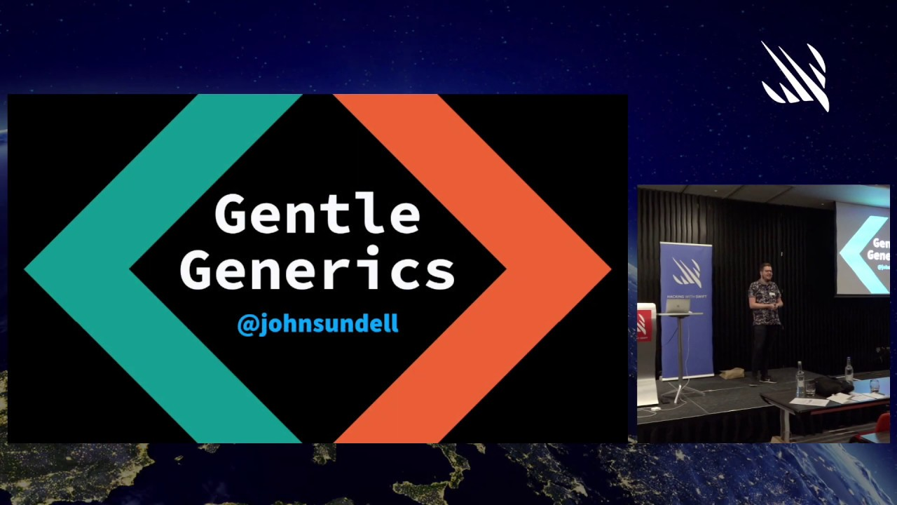 Gentle Generics – John Sundell at Hacking with Swift Live 2019