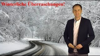 Der Winter schlägt zu: Ab 400 m gibt´s viel Neuschnee! (Mod.: Dominik Jung)
